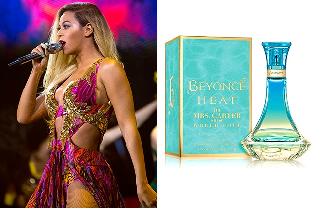Beyonce mrs Carter tour Heat parfum