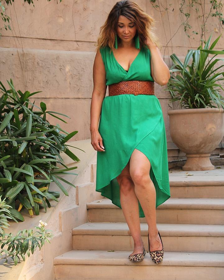 sized_GREEN DRESS