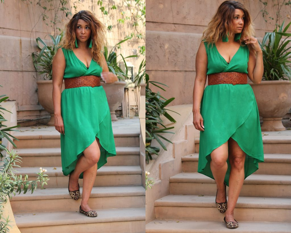 BLOGPOST GREEN DRESS