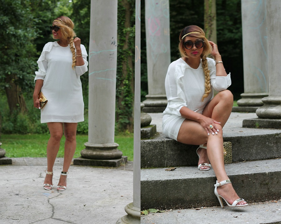 All white lookbook