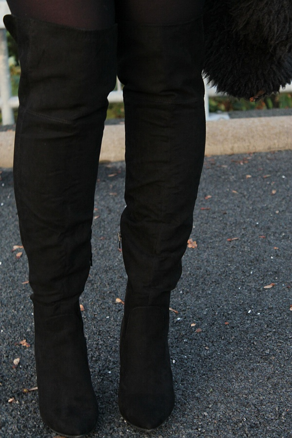 Primark over the knee boots primark