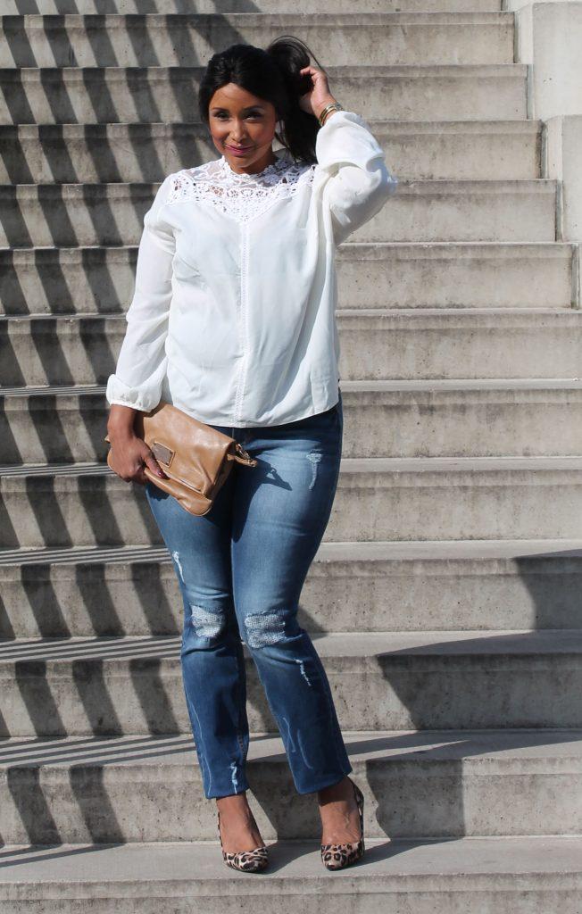 Juanarose ripped jeans