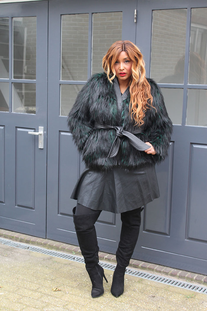 FAUX FUR, LEATHER AND LIPSTICK 5