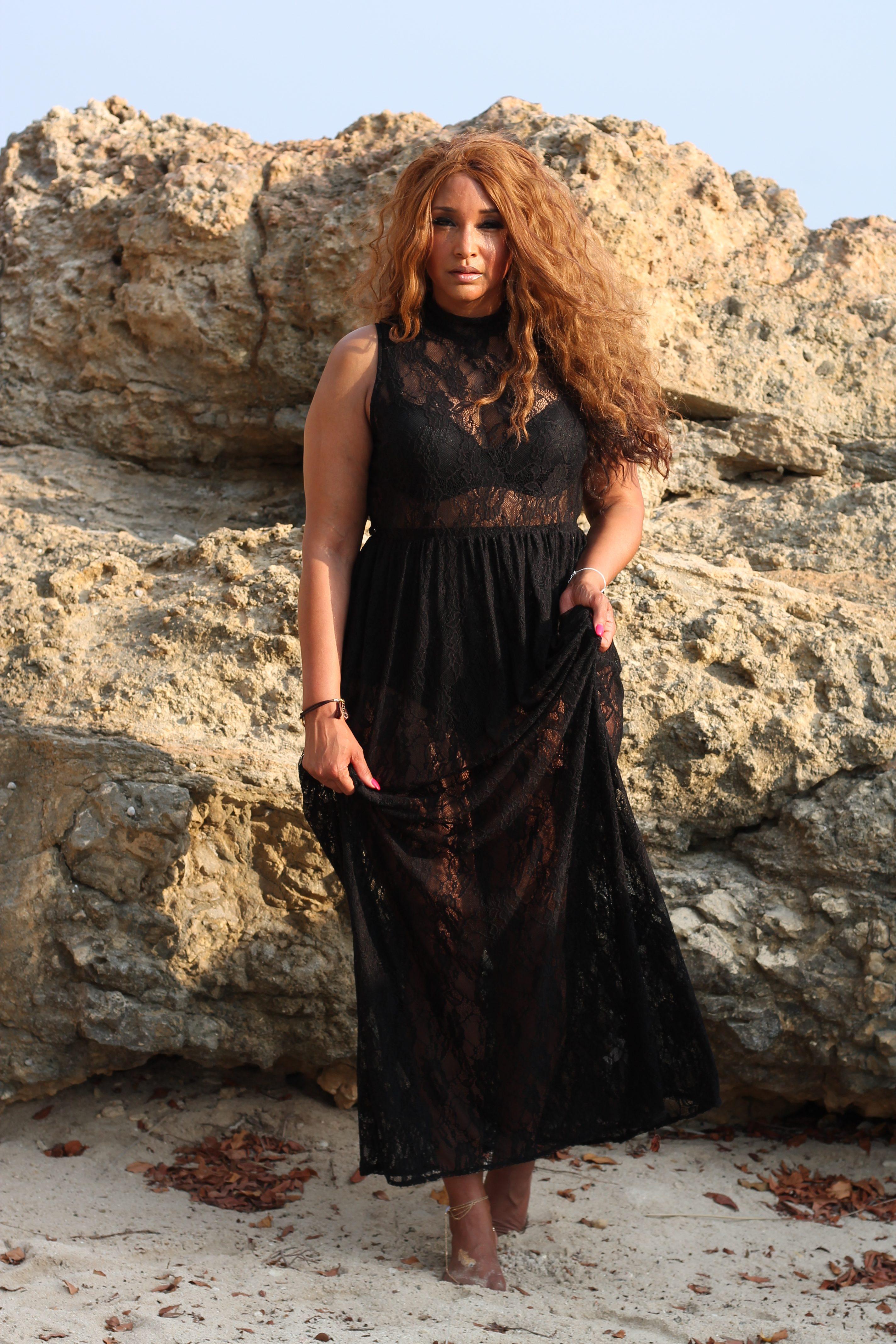 LACE MAXI DRESS 5