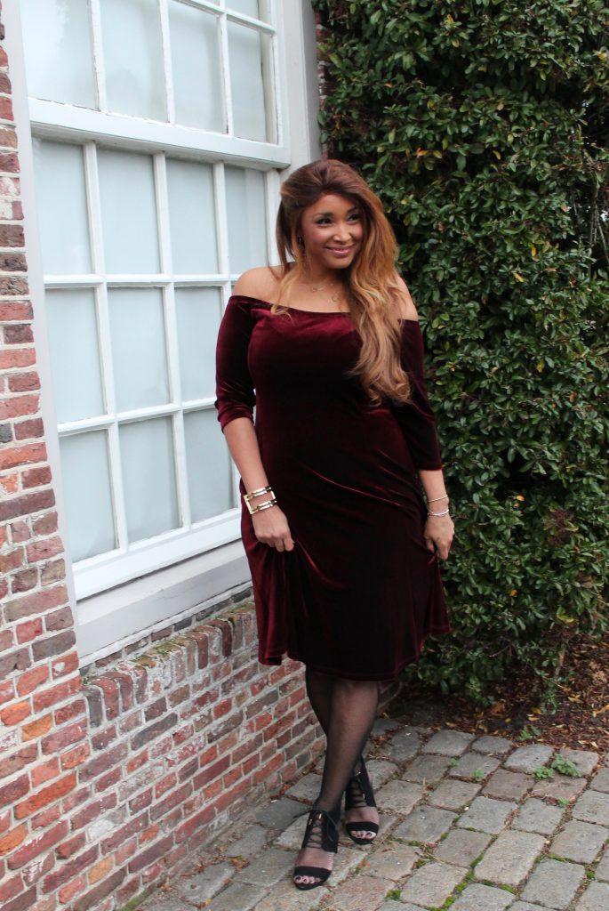 RED VELVET DRESS 7