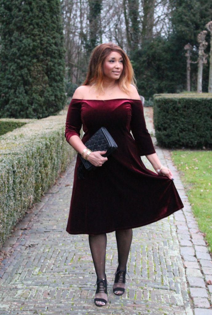 RED VELVET DRESS 6