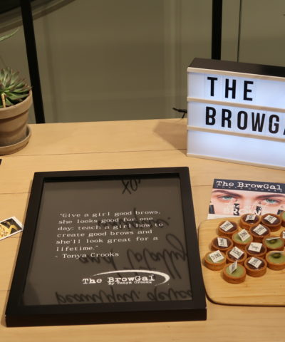 MEET THE BROWGAL 9