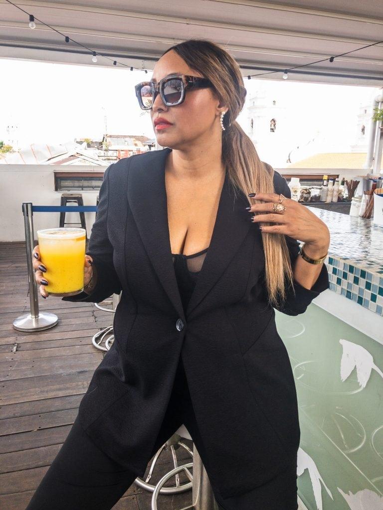Ulla Popken black suit