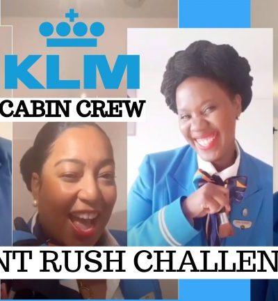 KLM CABIN CREW #DontRushChallenge